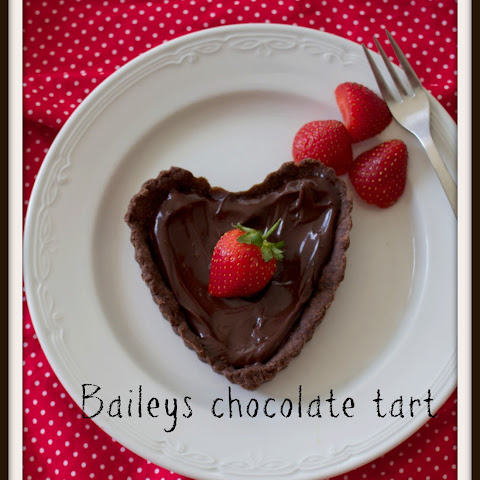Boozy chocolate hearts for Valentines Day dessert
