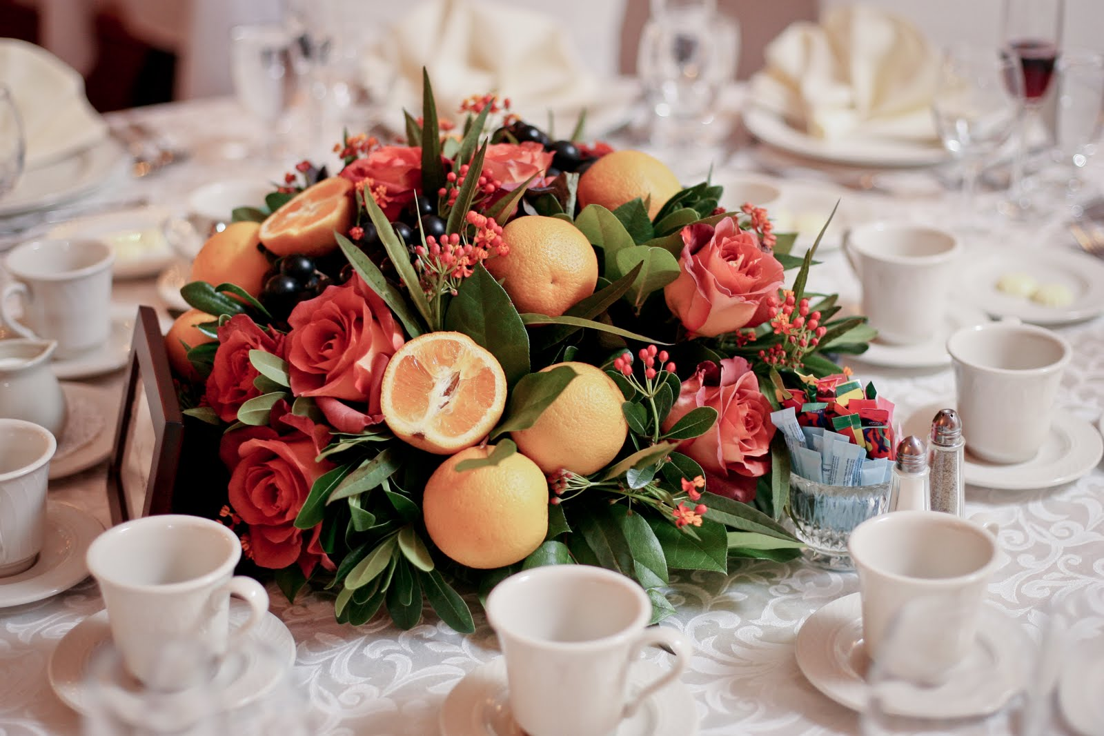wedding centerpieces with