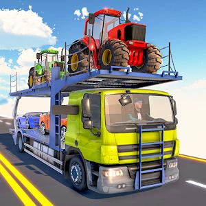 Car Transporter Truck Driver:Cargo Plane Simulator Online PC (Windows / MAC)