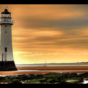 Lighthouse by Garry Atkinson - Landscapes Beaches ( sky hdr, beaches, sand, lighthouse,  )