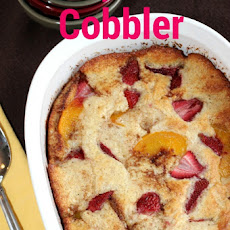 Strawberry-Peach Cobbler