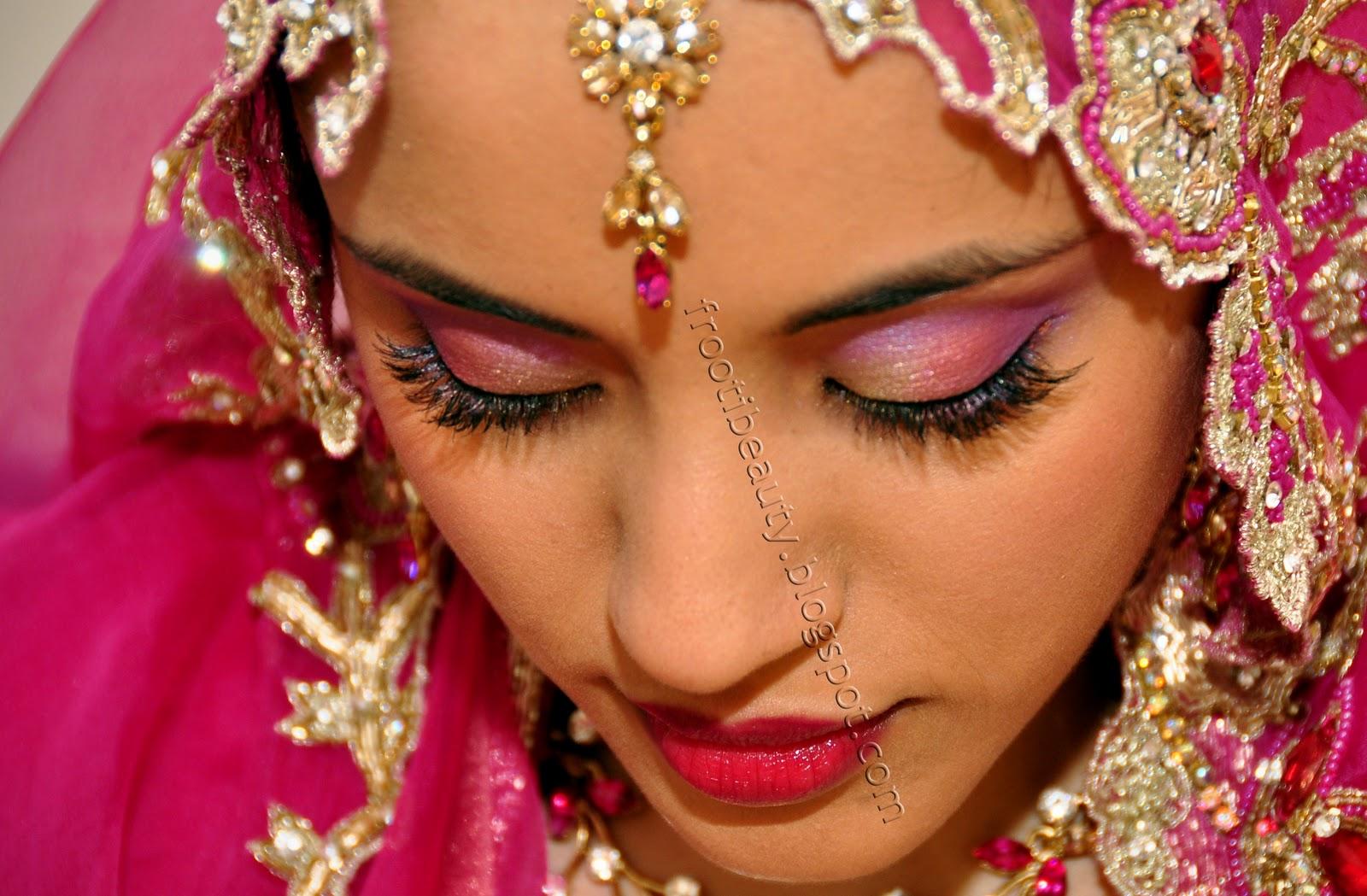 asian wedding makeup..