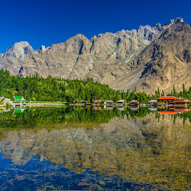 Shangrila Resort by Muhammad Awais - Landscapes Mountains & Hills ( shangrila )