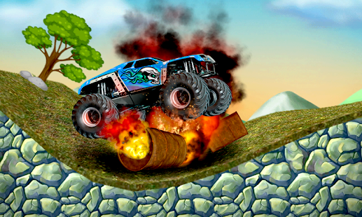 Mad Evil Monster Car- screenshot