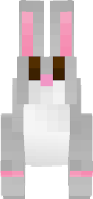 I changed the gold rabbit to a simple and cute gray one.