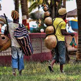 by Stephen Hooton - People Musicians & Entertainers ( gambia )