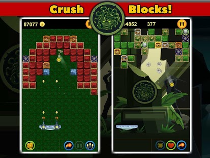 Crush Mythology Brick Breaker - screenshot