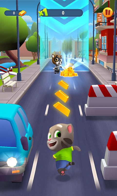 Talking Tom Gold Run Screenshot 0