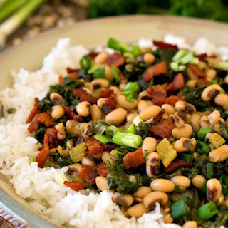 Hoppin' John with Kale