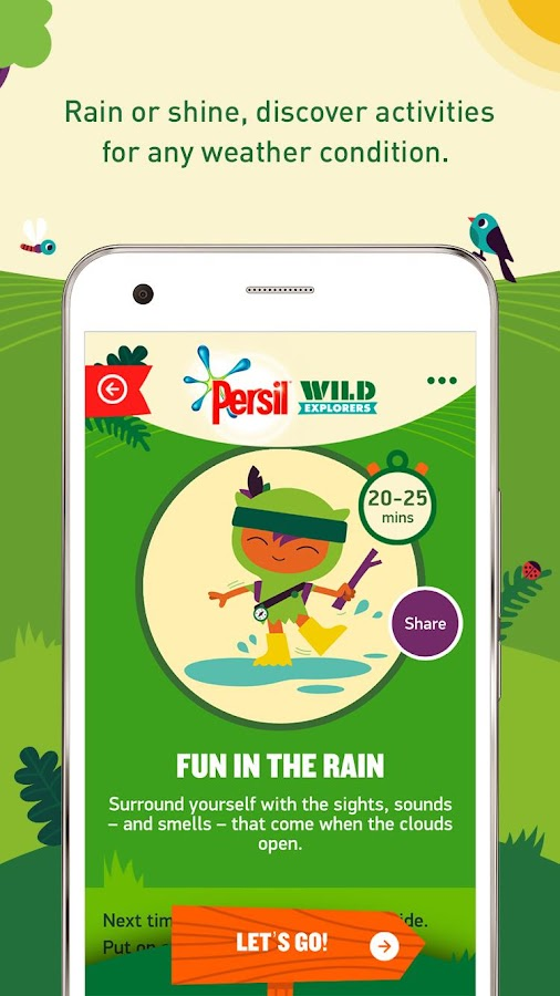 Persil Wild Explorers Screenshot 3