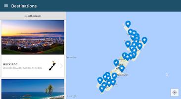 Screenshot of Essential New Zealand Travel