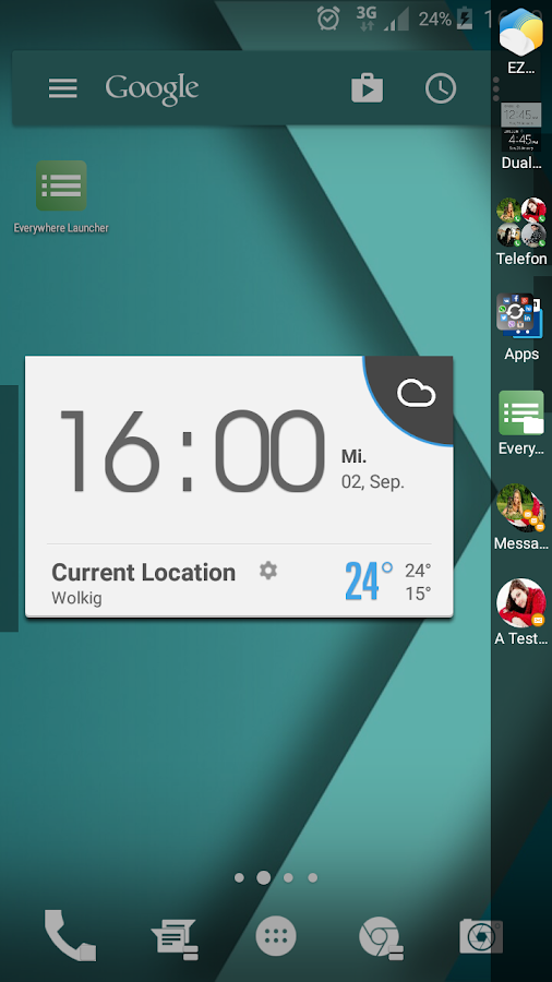 Everywhere Launcher Screenshot 4
