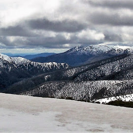 Mount Featherback by Sarah Harding - Novices Only Landscapes ( winter, snow, novices only, scenic, landscape )