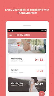 Free TheDayBefore (D-Day counter) APK for Windows 8