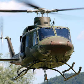 Slovenia Air Force by Boštjan Henigman - Transportation Helicopters ( army, helicopter, flying )
