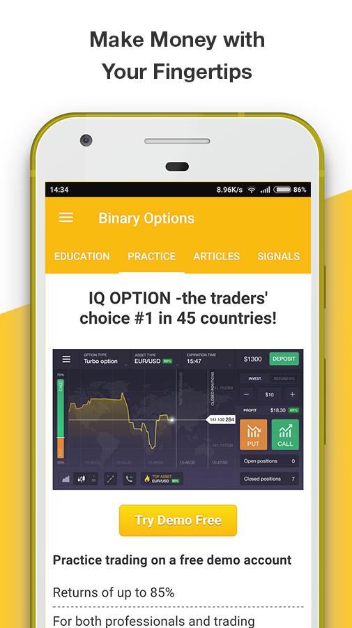 binary options game free