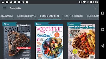 Screenshot of Next Issue Magazines