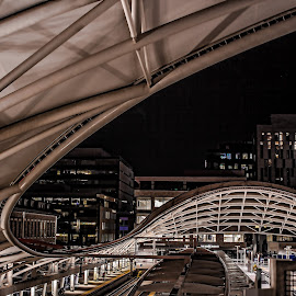 Union station by Gwen Paton - Buildings & Architecture Bridges & Suspended Structures ( denver, light rail, union station, transportation )