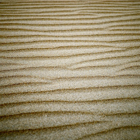 Sand by Seamus Crowley - Abstract Patterns ( sand, grains, brown, ocean, ridge )
