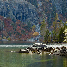 by Sherry Gardner - Landscapes Waterscapes ( shasta, battle rock, joanquin miller, squire gibson, castle crags )