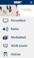 Screenshot of WDR