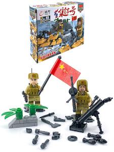 "Конструктор серии ""Brick Battle"", солдат минометчик"