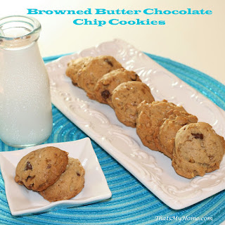 Browned Butter Chocolate Chip, Toffee and Toasted Walnut Cookies