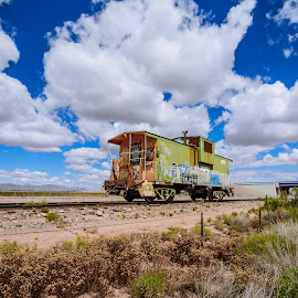 End of Duty by Ralph Resch - Transportation Trains ( trains )