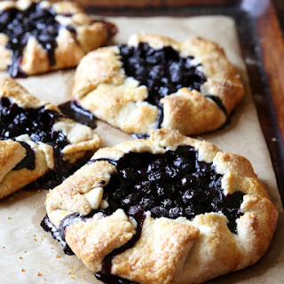 Blueberry Galettes