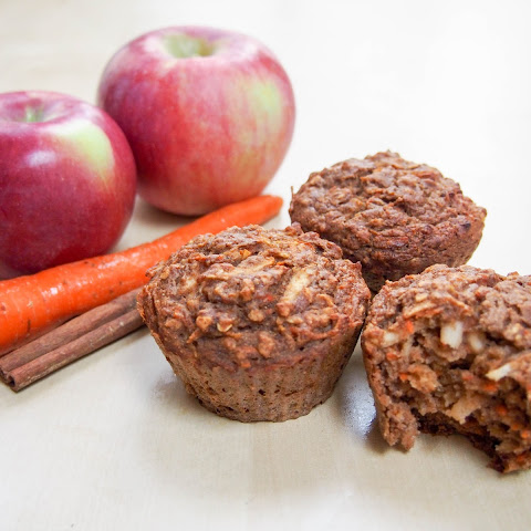 Carrot And Apple Spice Muffins