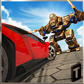 APK Game Car Vs. Robots Demolition 2016 for iOS