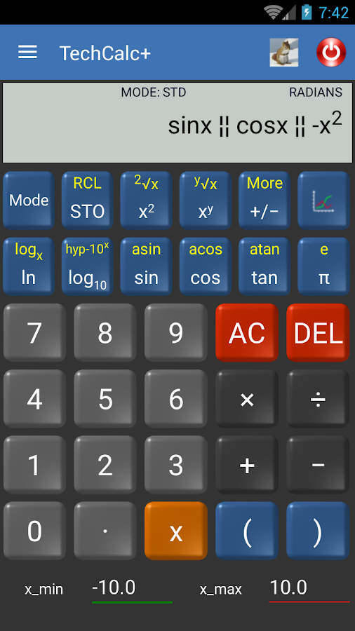 Scientific Calculator (adfree) Screenshot 4