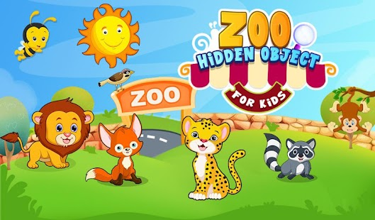 Zoo Hidden Object For Kids - screenshot