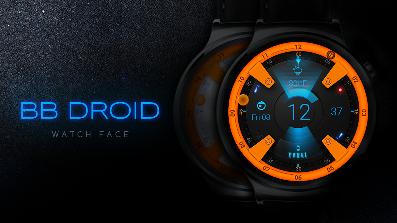 BB Droid Watch Face Screenshot 1