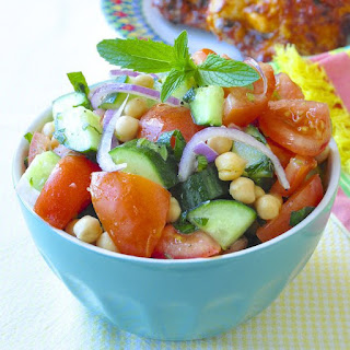 10 Best Chickpea Tomato Cucumber Salad Recipes | Yummly