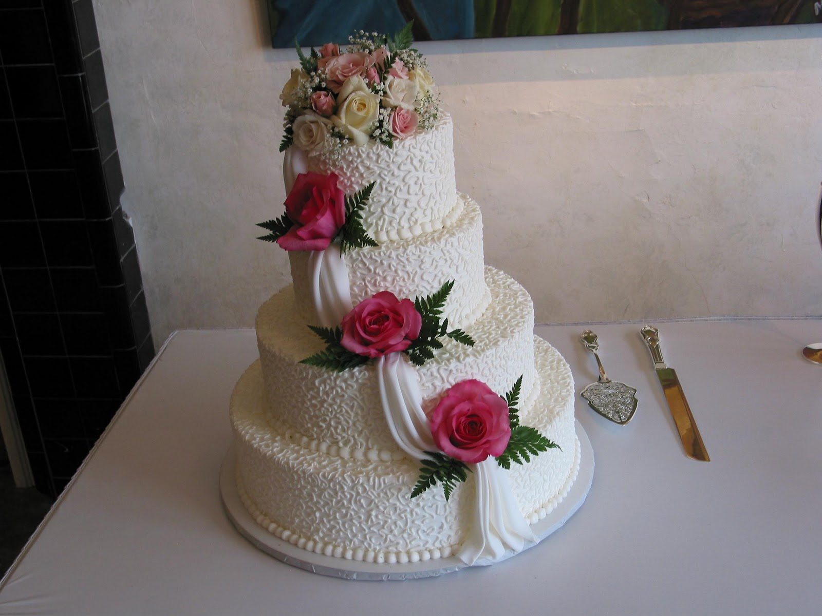 I picked out my wedding cake