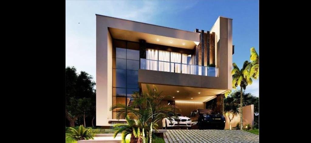IMPRESSIONANTE SOBRADO com 4 SUÍTES, PISCINA E ESCRITÓRIO, 270 m² A/C por APENASR$ 1.800.000 - Parque Residencial Shambala II - Atibaia/SP