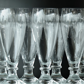 Drinking Glasses #1 by Koh Chip Whye - Artistic Objects Cups, Plates & Utensils