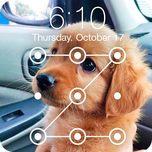 Cute Dogs Labrador HD AppLock Security For PC