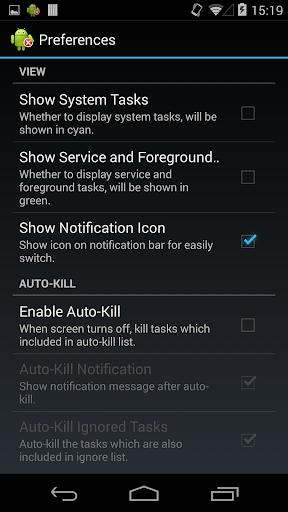 Task Manager (Task Killer) screenshot 4