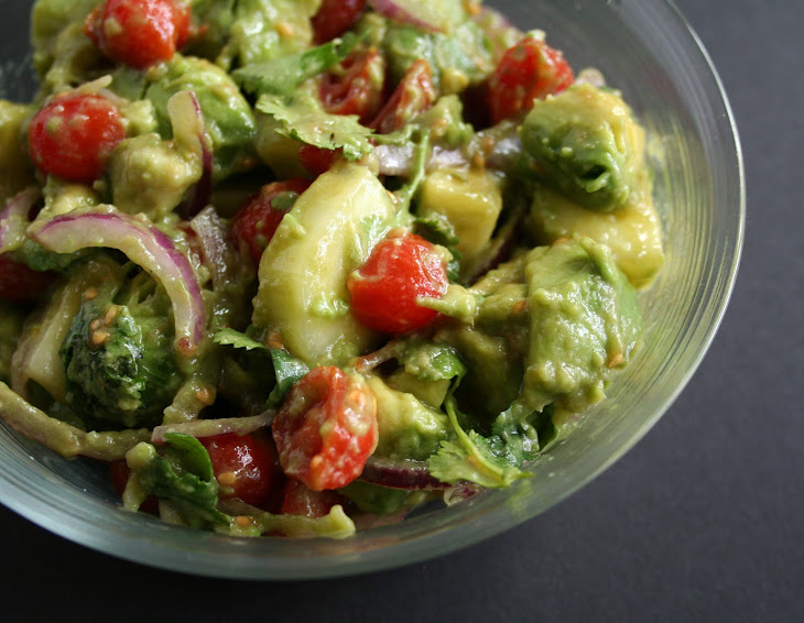 Avocado Cucumber Tomato Salad Recipe | Yummly