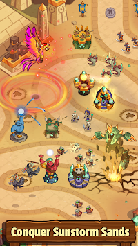 Realm Defense: Fun Tower Game APK screenshot thumbnail 3