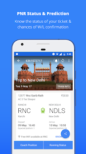 App Indian Rail Train PNR Status APK for Windows Phone