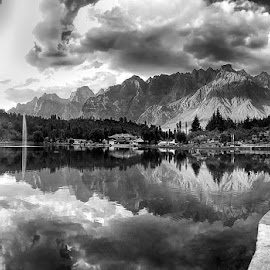by Abdul Rehman - Black & White Landscapes