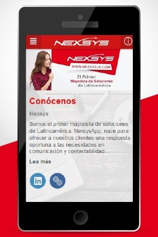 Nexsys de Colombia screenshot 1