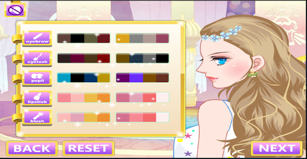 Makeover and fashion dress up- screenshot thumbnail