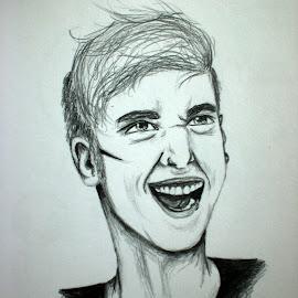 by Natasha Rupert - Drawing All Drawing ( pencil, sketch, man, drawing, portrait )