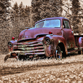 Ford Pick Up by Jeffrey Lorber - Transportation Automobiles ( pickup, truck, lorberphoto, lorber, rust, ford, jeffrey lorber, abandoned,  )
