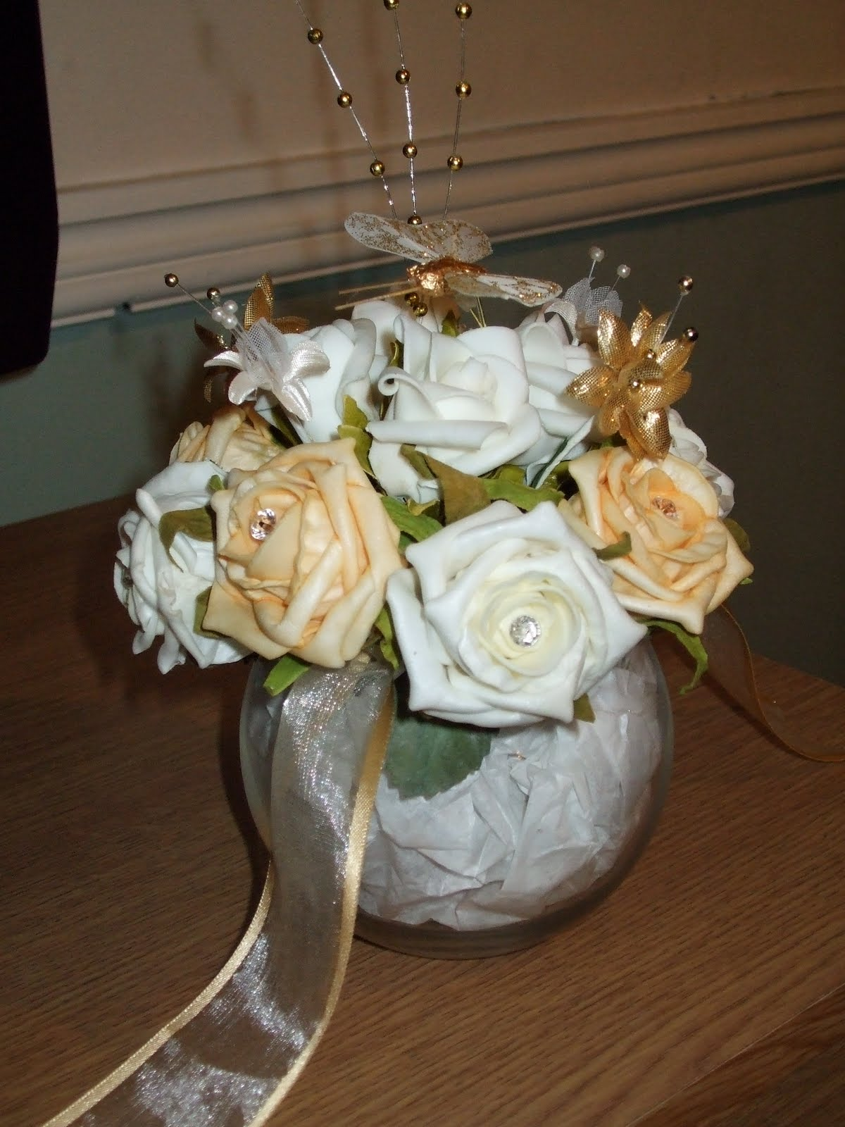pictures of wedding table decorations