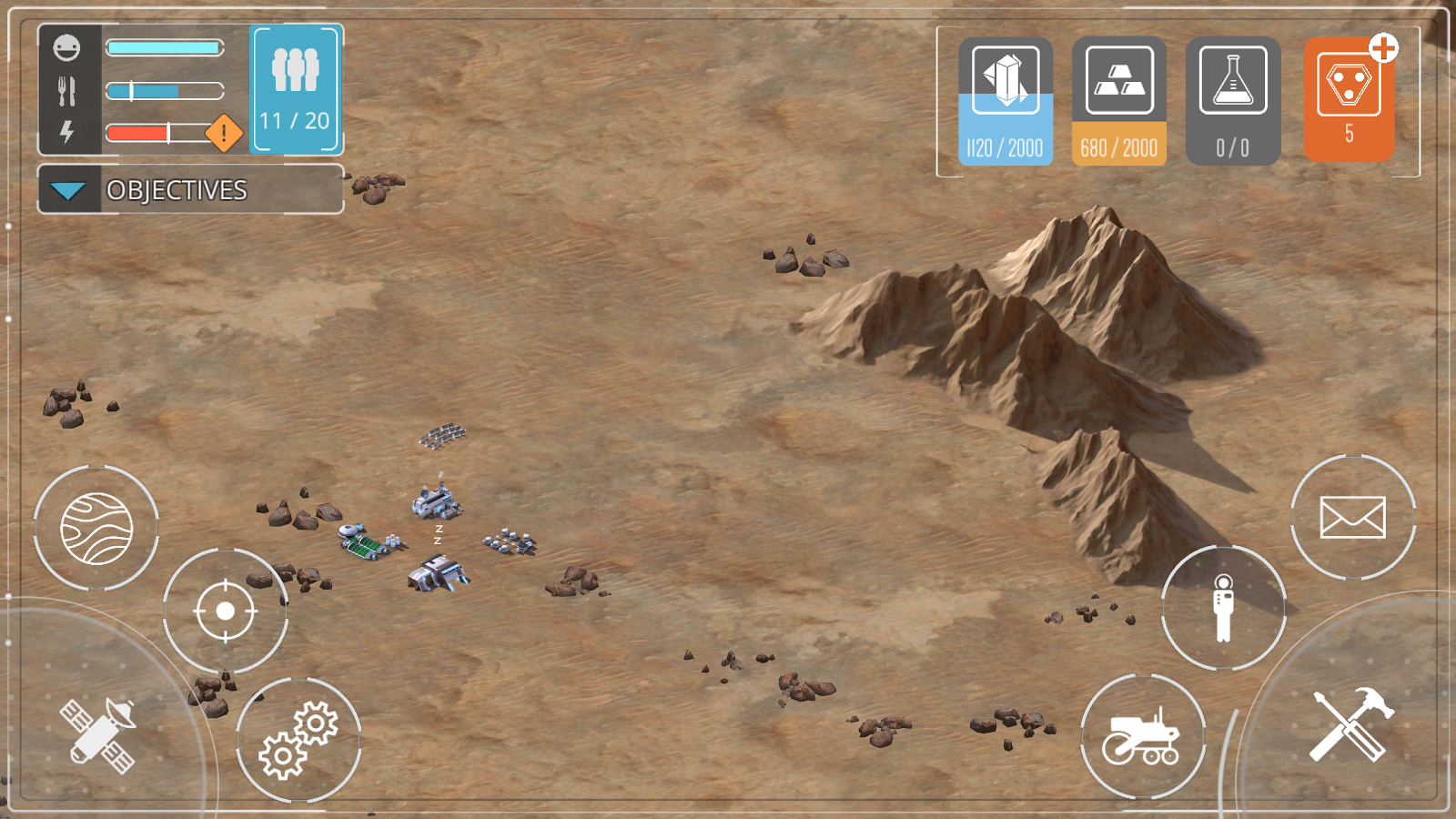 Dawn of Mars Screenshot 4